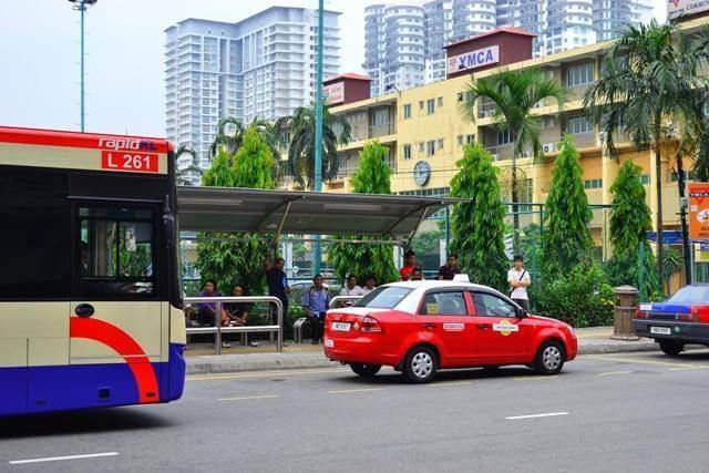 YMCA bus stop