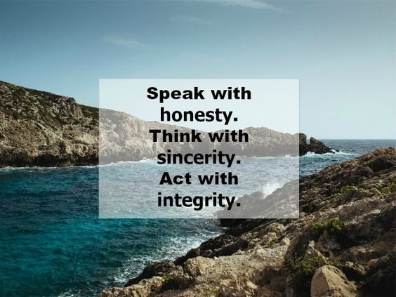 speak think act