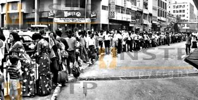 Barisan di Puduraya tahun 1985