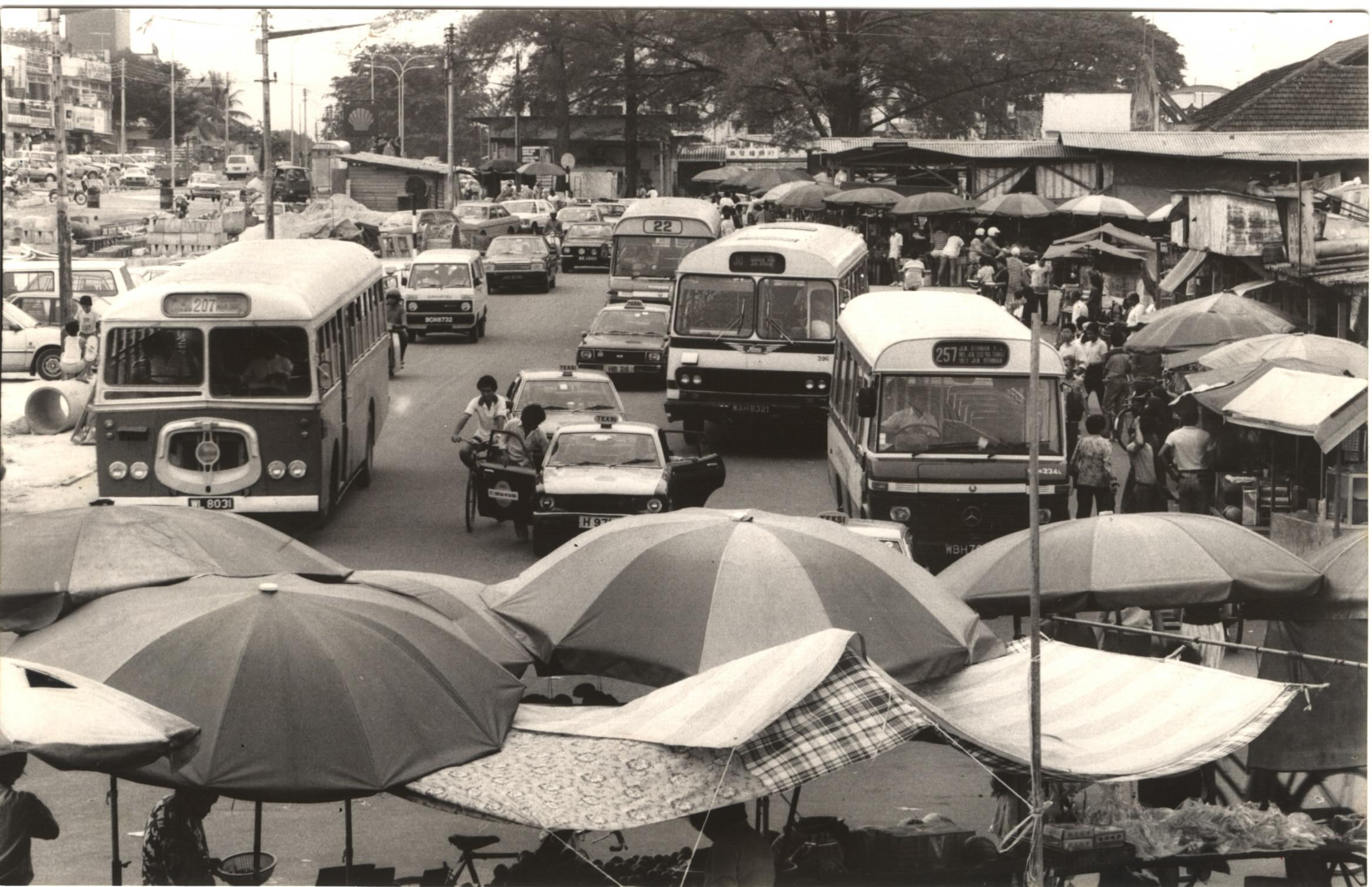 Stesen Bas Sri Jaya tahun 1986